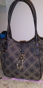 Dooney and Bourke signature bag